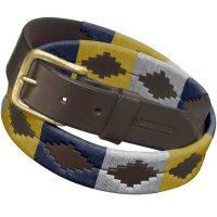 Pampeano - Leather Polo Belt - Cometa