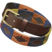 Pampeano - Leather Polo Belt - Moreno