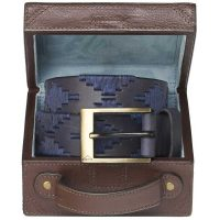 Pampeano - Marino Polo Belt with Luggage Trunk Gift Box