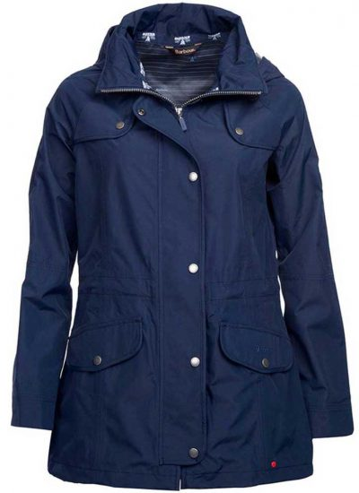 Barbour - Ladies Trevose Waterproof Jacket - Navy