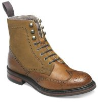 Cheaney Ladies - Amelia R Fur Lined Country Boot - Almond Grain