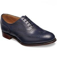 Cheaney Ladies - Maisie Oxford Brogue - Navy Calf