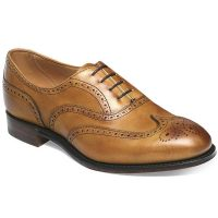 Cheaney Ladies - Maisie Oxford Brogue - Original Chestnut Calf