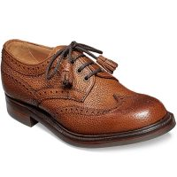 Cheaney Ladies - Marianne Tassel Derby Brogue - Almond Grain