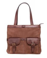 Dubarry Raheen Tote-Style Shoulder Bag - Walnut