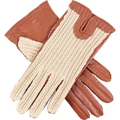 Dents Ladies Kelly Crochet Backed Driving Gloves