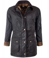 Barbour - Ladies Beadnell Wax Jacket Rustic
