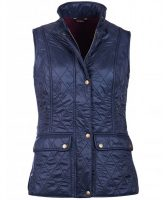 Barbour - Ladies Wray Quilted Gilet - Navy
