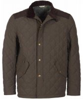 Barbour - Men's Coopworth Quilted Jacket Forest