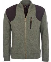 Barbour - Men's Danby Full Zip Sweater - Olive Tweed