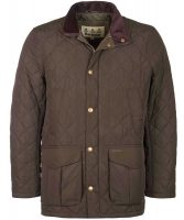 Barbour - Men's Devon Quilted Jacket Olive
