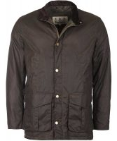 Barbour - Men's Hereford Wax Jacket Peat