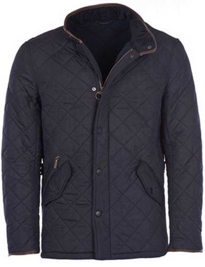 Barbour - Mens Powell Quilted Jacket with Fleece Lining