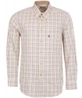 Barbour - Sporting Tattersall Relaxed Fit Shirt- Red & Khaki Check