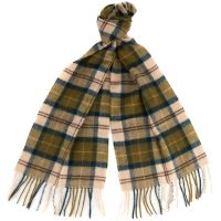 Barbour - Lambswool Scarf - Ancient Tartan