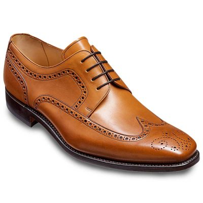 Barker Larry Derby Brogue Cedar Calf