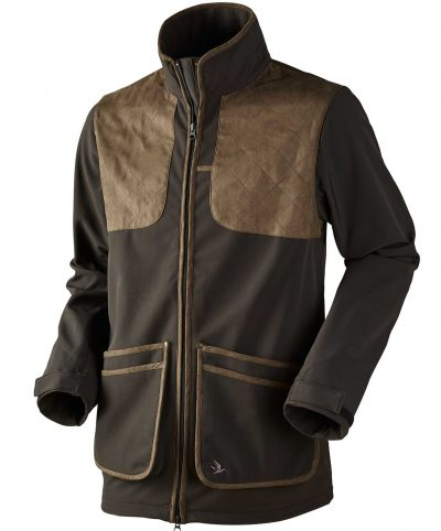 Seeland Men's Winster Softshell Jacket - Black Coffee