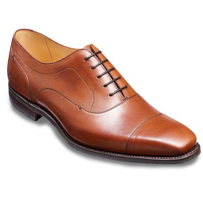 Barker Liam Oxford Shoes - Hazelnut Calf