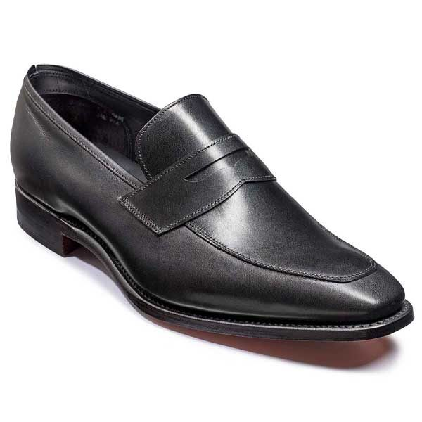 Barker Ravel Loafer - Black Calf