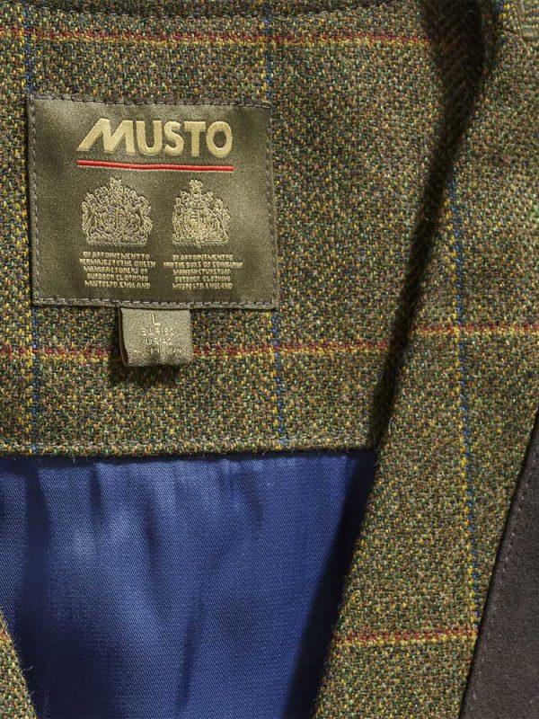 MUSTO Shooting Waistcoat - Mens Lightweight Machine Washable Tweed - Balmoral