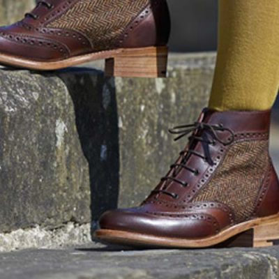 Barker Ladies Grace Brogue Boots