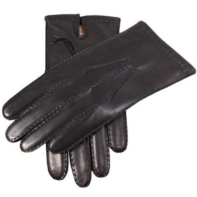 Dents Men's Gloves - Chelsea Cashmere Lined - Black