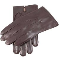 Dents Men's Gloves - Chelsea Cashmere Lined - Brown