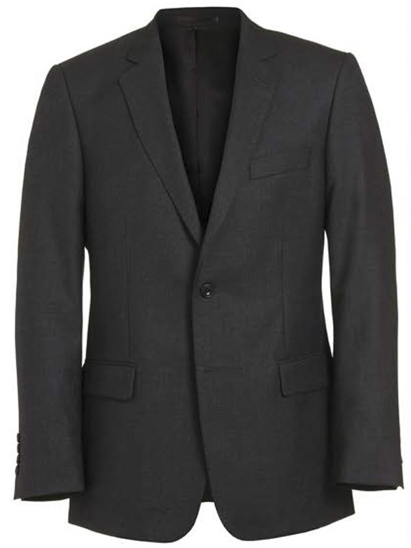 Magee Charcoal Grey Pure Wool Suit