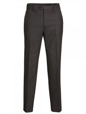 Magee Charcoal Grey Pure Wool Suit Trousers