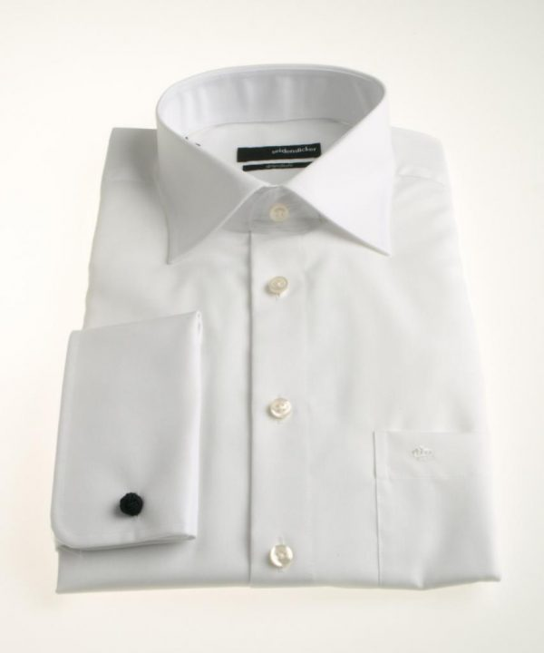 Seidensticker Splendesto White Shirt double cuff