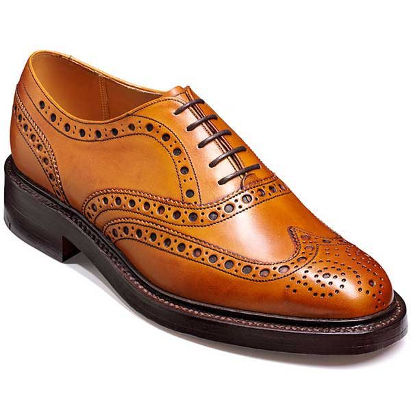 Barker Shoes - Westfield Country Brogue - Cedar Calf