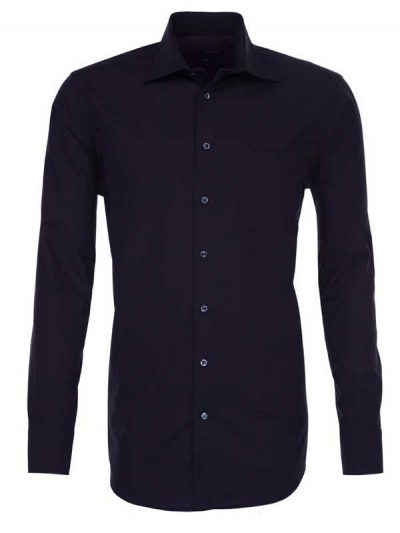 Seidensticker Black Shirt - Classic Splendesto Pure Cotton