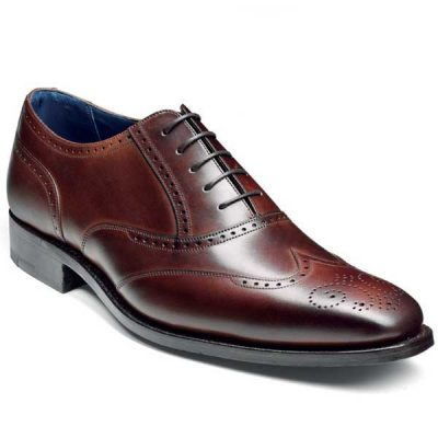 Barker Shoes - Johnny Dark Brown Calf