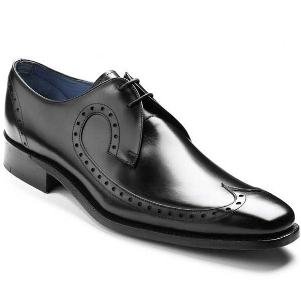 Barker Shoes - Woody Black Calf