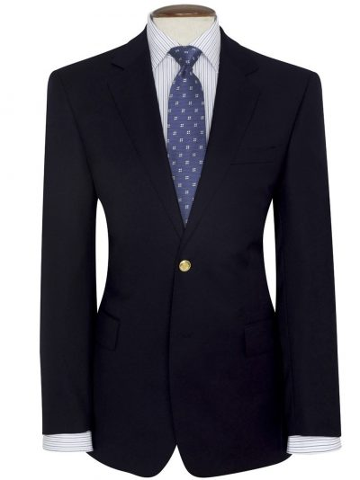 Brook Taverner Otley Blazer - Navy Single Breasted Blazer