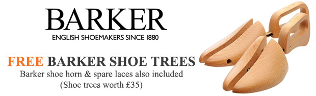 Complimentary with each Barker Shoe order - shoe horn, spare laces and shoe care towel to help keep them in the best possible condition.