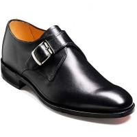 Barker Shoes - Northcote Black Calf - Single Monk Strap