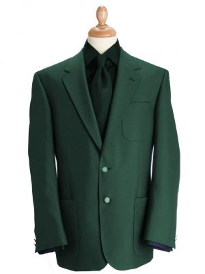 Brook Taverner Henley Blazer - Green Classic Fit Jacket