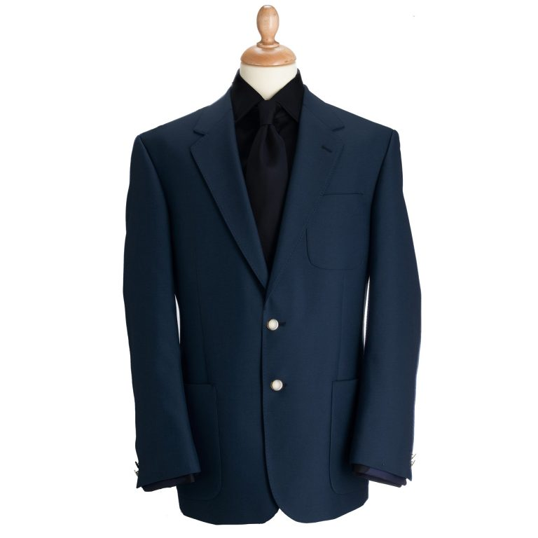 Brook Taverner Henley Blazer - Navy Classic Fit Jacket
