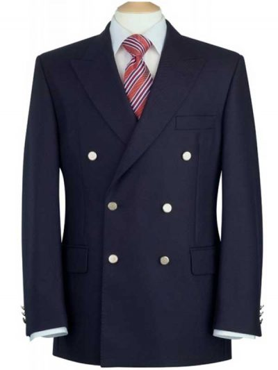 Brook Taverner Reigate Blazer - Navy Double Breasted