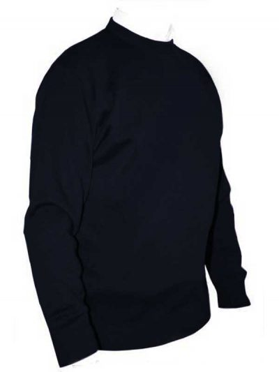Franco Ponti Crew Neck Sweater - Navy