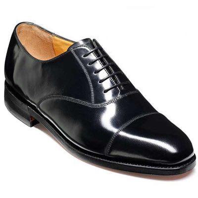 Barker Shoes - Arnold Black Hi-Shine