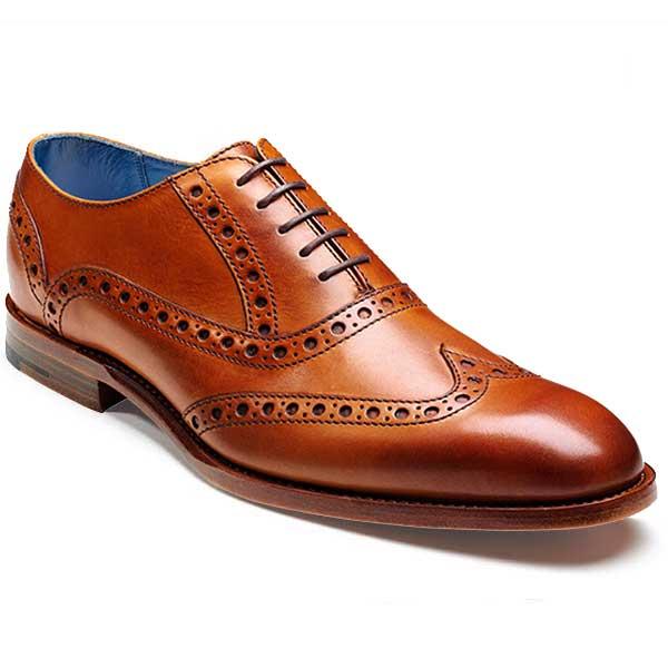 Barker Shoes - Grant Cedar Calf (Brown) - Brogue