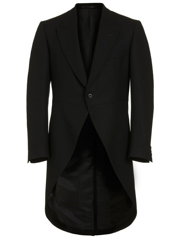 Magee Black Tailcoat - Morning Coat 3539