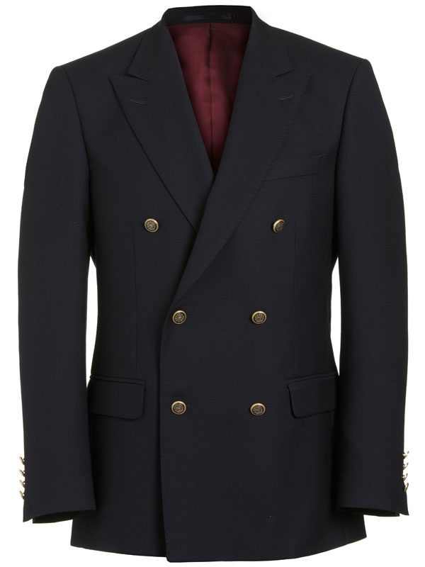 Magee Navy Blazer - Double Breasted