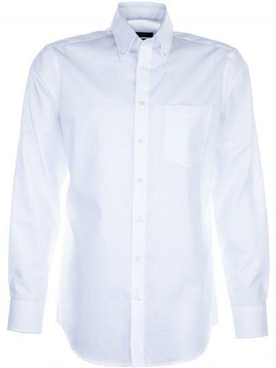 Seidensticker Shirt - Button Down Collar - Splendesto Pure Cotton - White