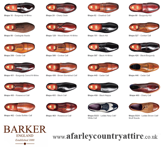 Loake Shoes Size Guide