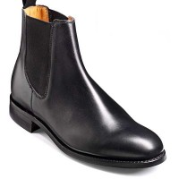 Barker Shoes - Pembroke - Chelsea Style Boot - Black Calf