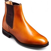 Barker Shoes - Pembroke - Chelsea Style Boot - Cedar Calf