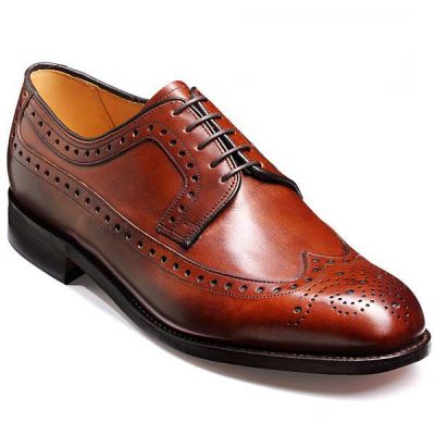 Barker Shoes - Portrush - Derby Extra Wide Fit - Walnut Calf